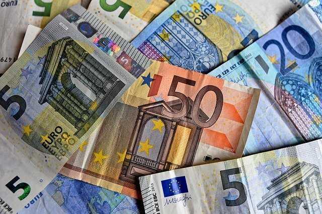 Euros salarios en españa