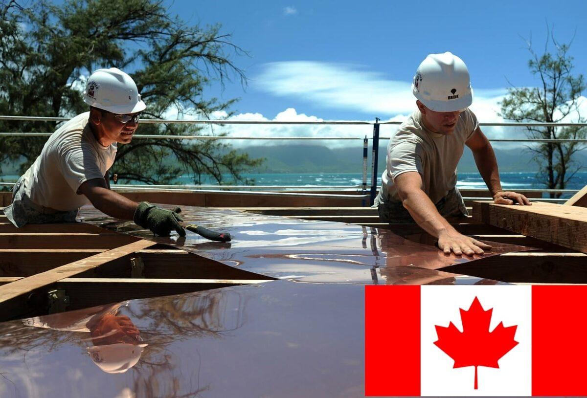 Puestos para conseguir trabajo de construcción en Canadá
