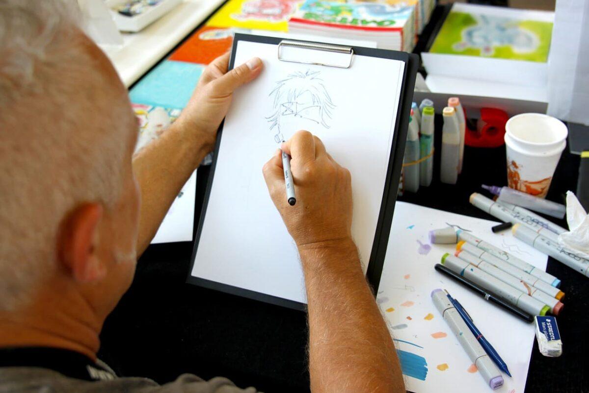 Formas de ganar dinero dibujando
